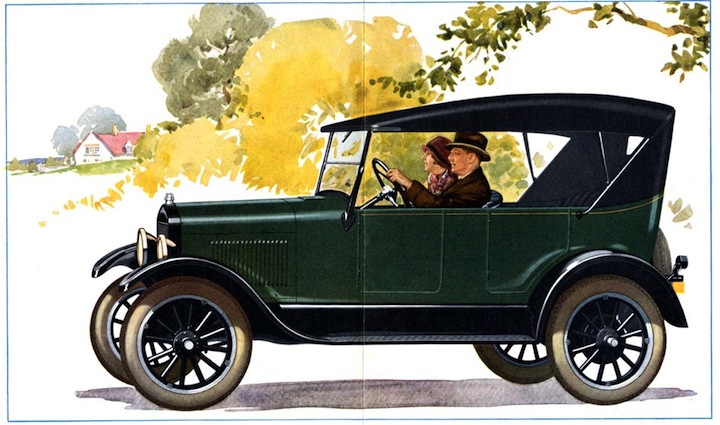 Coloring Pages Model T Ford : Model t ford forum: body paint color chart?