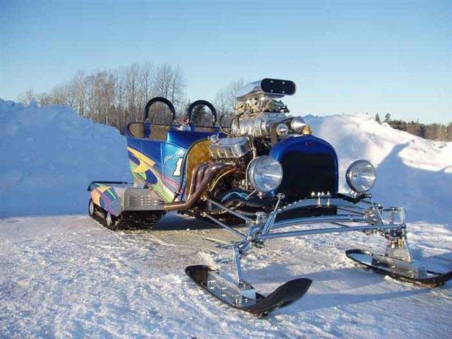 Laird Noller Ford >> Model T Ford Forum: Fordson Snow Motor