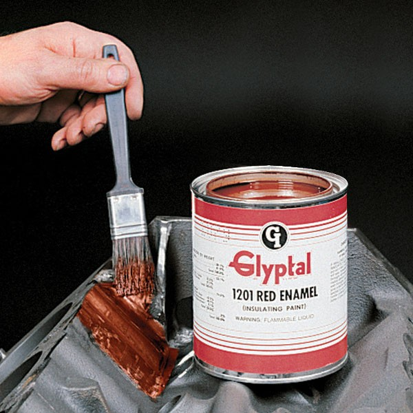 Model T Ford Forum Glyptal Red Insulating Paint