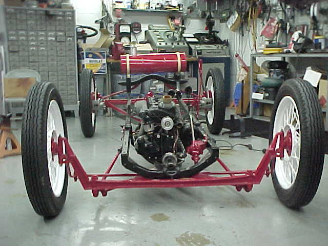 Model T Ford Forum: Nice speedster chassis underway