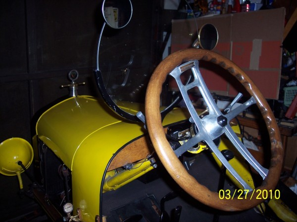 Neville More Room Steering Wheel