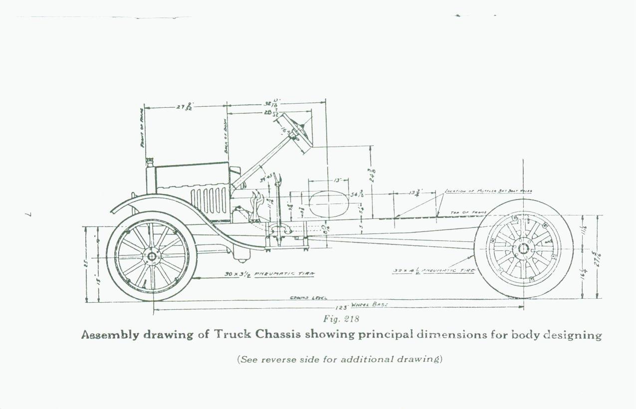 Model T Ford Forum: Frame Measurement Question ?