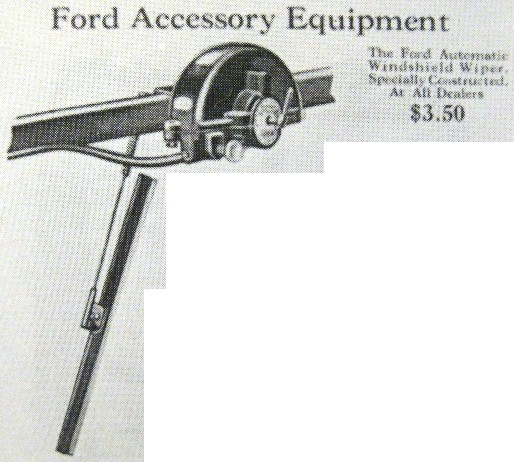 Wipers windshield vacuum operated Classic Car