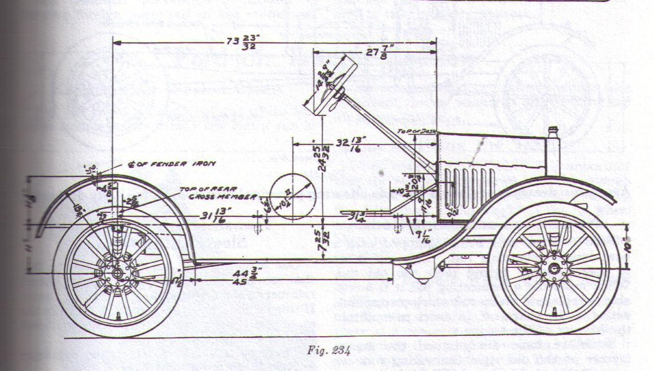Model T Ford Forum Speedster Racer Roadster Body Plans