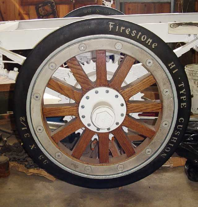 Model T Ford Forum New Hard Rubber Tires