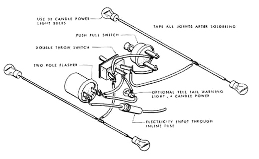 indicator simple wiring diagram