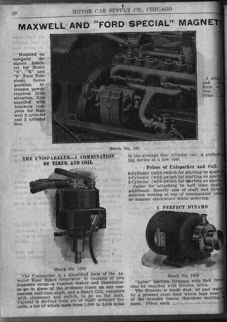 Ford Rapid City >> Model T Ford Forum: Distributors versus coils