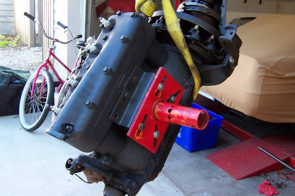 ford model t engine stand adapter