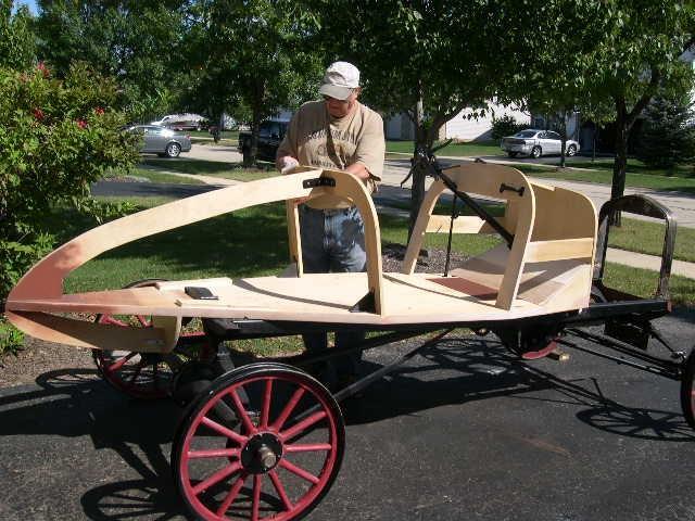 Model T Ford Forum FAULTLESS SPEEDSTER PROGRESS