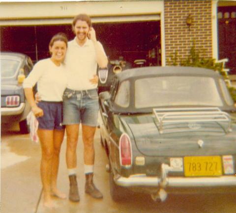 Me & Sis circa 1969