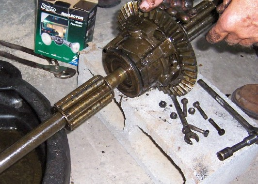 Ton Rockwell Axles Ring And Pinion