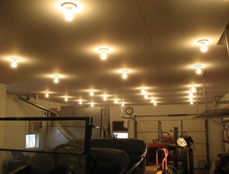 Model T Ford Forum Shop Lighting