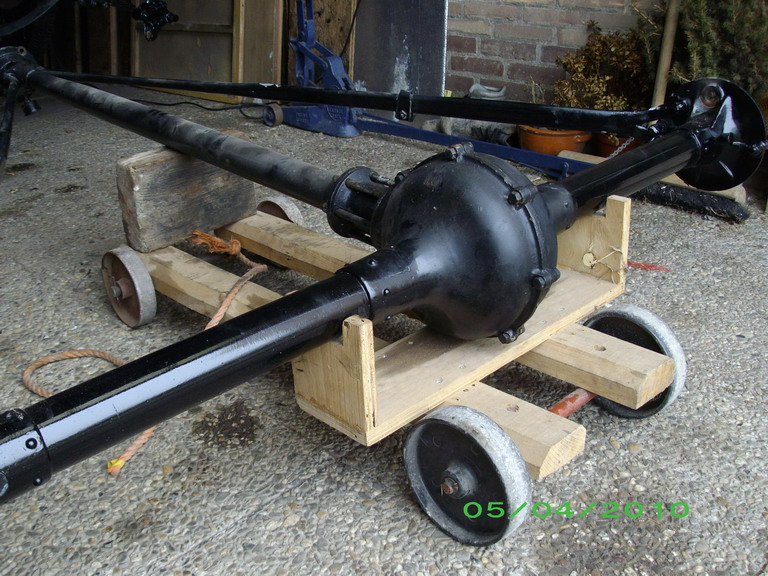 Model T Ford Forum Rear Axle Removal