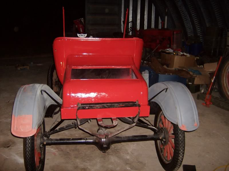Model T Ford Forum: Trailer out of spare parts????