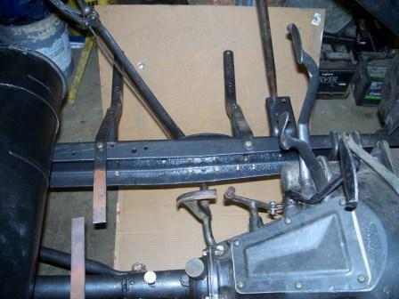 brake lever back