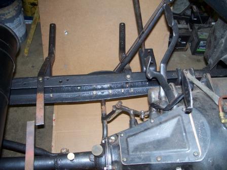 brake lever forward