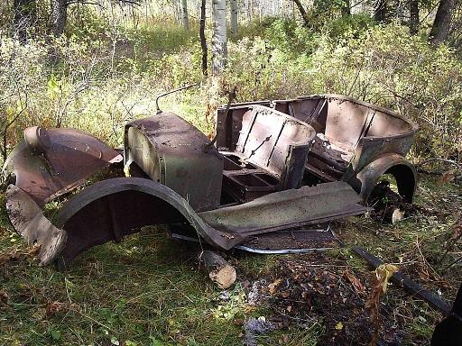 Sad old heap