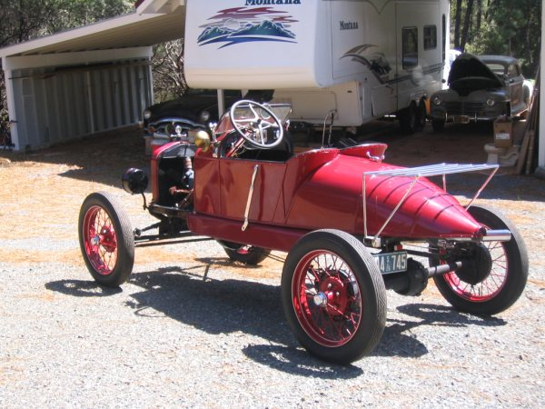 1926 Model T Speedster Armadillo Body Style