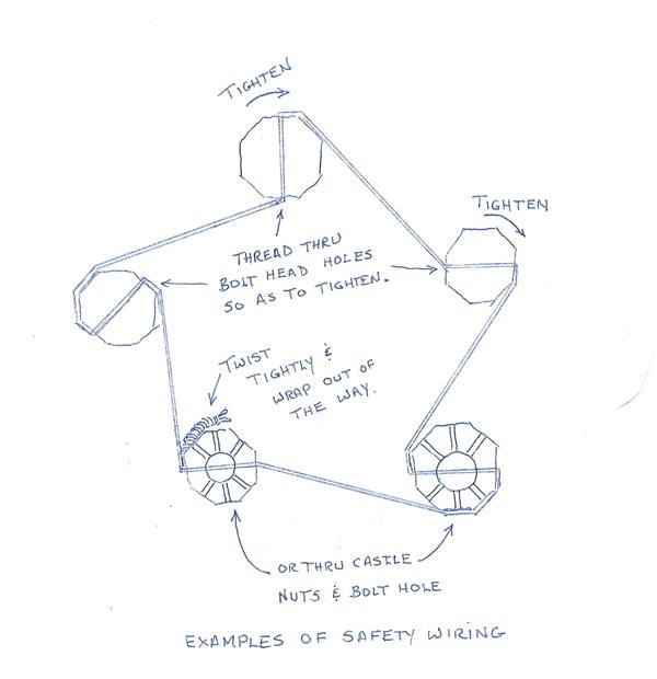 model t ford forum  safty wire on flywheel bolts