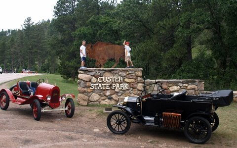 Entrance to Custer State Park