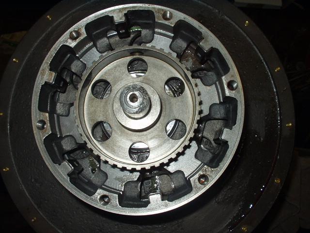 early brake drum w/lreplaceable lugs