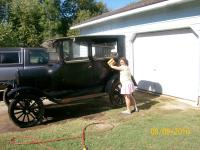 Best day was Oct 9th, the day we got our 25 tudor. As soon as we got it off the trailer, grand daughter Lilli was washing HER new car!