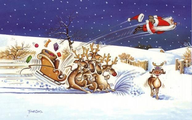 Even Santa!
