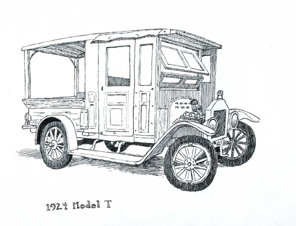 model t ford forum  hand drawn pictures of your car