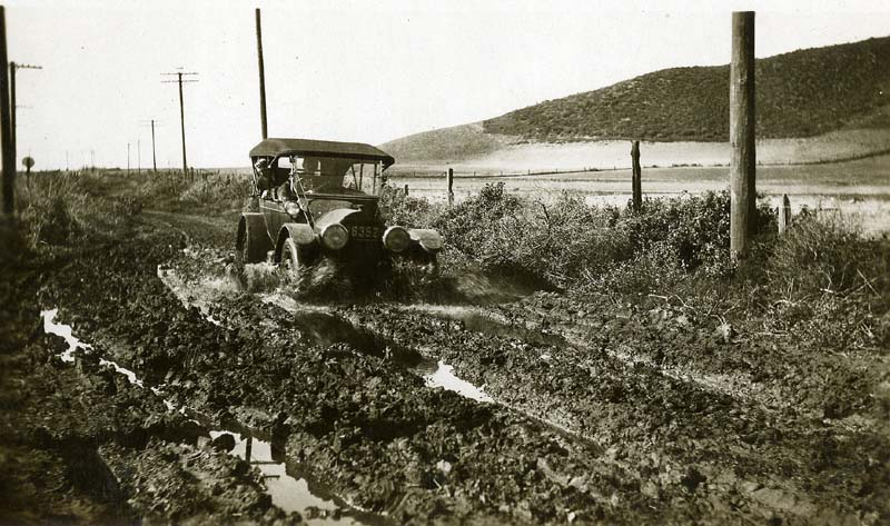 Mud Truck 1920 : Model t ford forum old photo axle deep driving on dirt