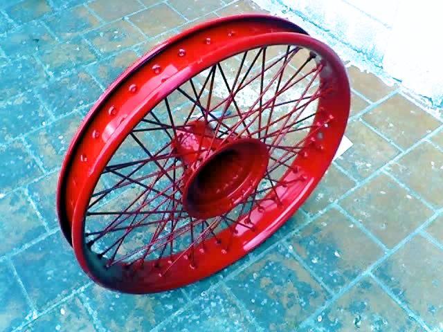 Model T Ford Forum: Wire Wheels in Uruguay