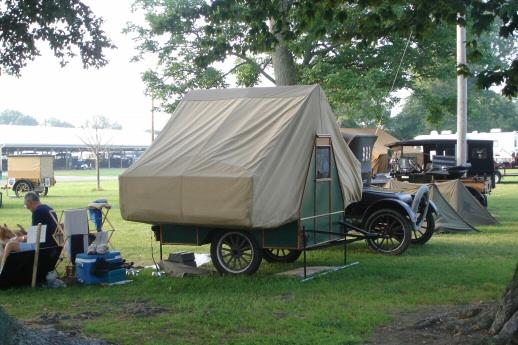 Model T Ford Forum Vintage Pop Up Camper On Tbay