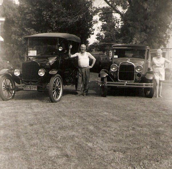 Model T & A photo