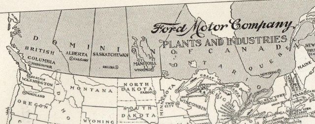 Model T Ford Forum: Ford plant Canada