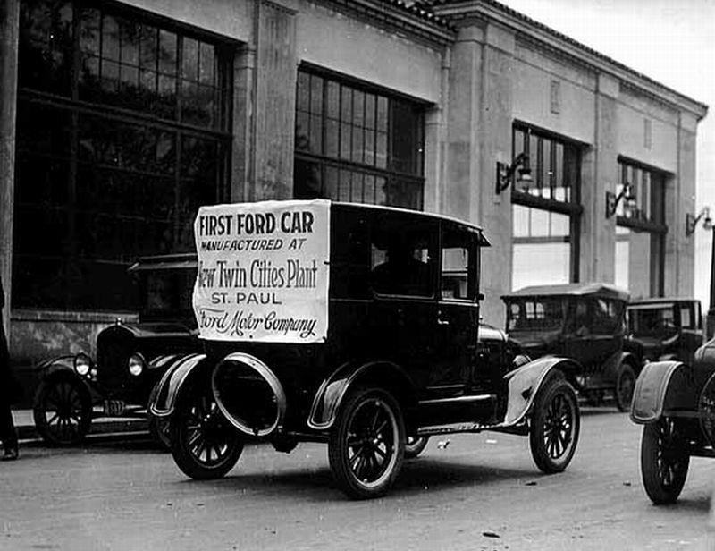 Model T Ford Forum Old Photo - First Ford Car Manufactured At New Twin Cities Plant Ford Motor Company & Model T Ford Forum: Old Photo - First Ford Car Manufactured At New ... markmcfarlin.com