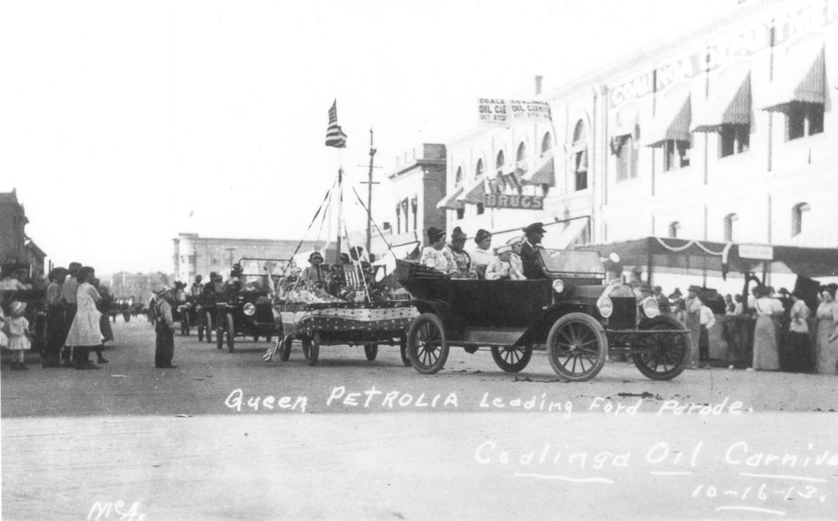 Ford Parade during the
