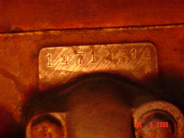 on Ford Engine Block Identification Numbers