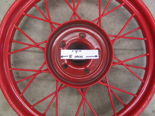 Don Davis Ford >> Model T Ford Forum: Value of T wire wheels