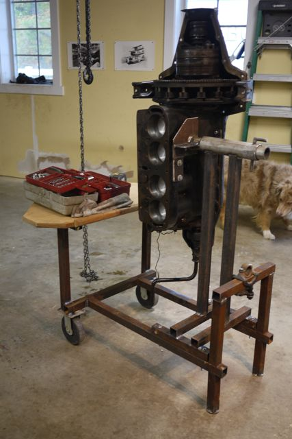 "Model T Ford Forum: L built a ""multi-purpose"" engine stand"