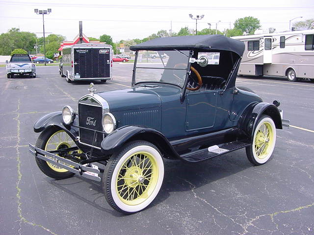 Model T Ford Paint Colors