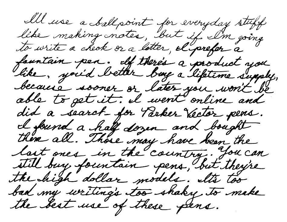 How I Improve My Handwriting: Spencerian Penmanship