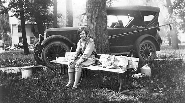 1926 wedding trip