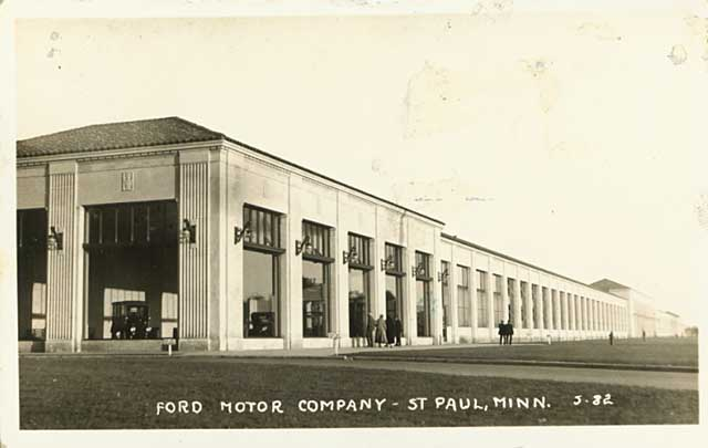 Ford Plant 1925