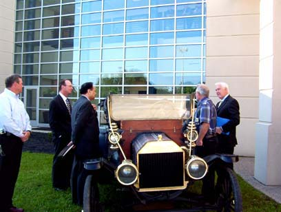 My 1910 and Ford Comany president