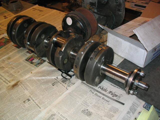 Aplex crank, 200 pounds.