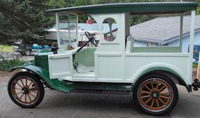 1917 milk truck