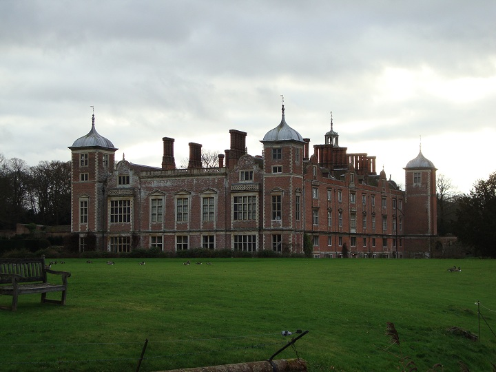 Rear view of 'Blickling Hall'