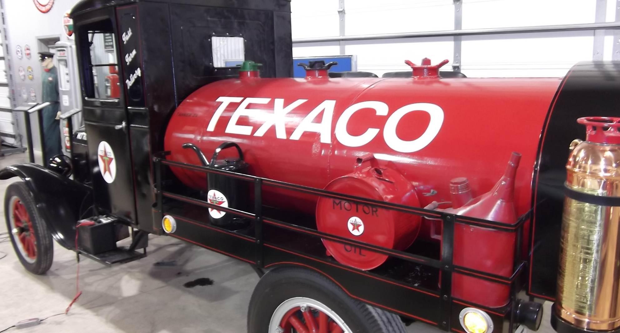 Model T truck fuel tanker