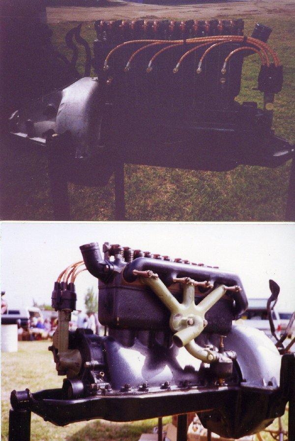 Model T 6 cyl engine