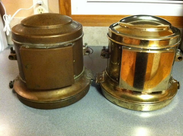 Model T Ford Forum Cleaning Tarnished Brass Comparison Pics