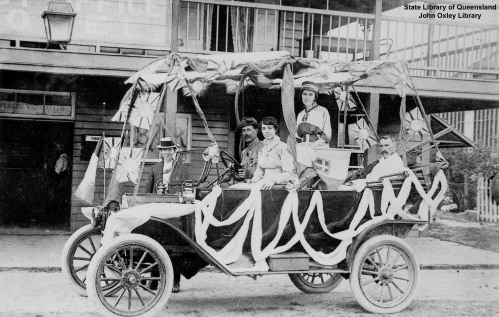 Model T Ford Forum: Old Photo - First Car In Mossman, Queensland ...